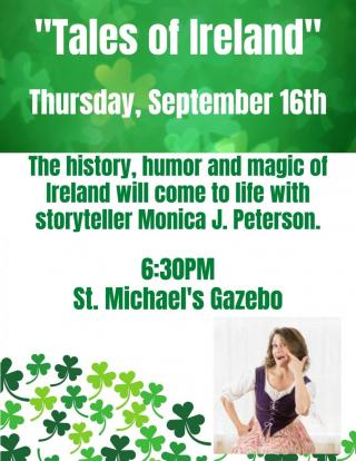 Tales of Ireland on September 16th