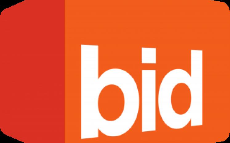 image of the word bid